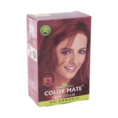 Краска для волос Color Mate Hair Color (тон 9.3, бургундия)