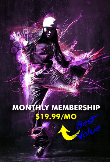 Jamme's Crunk Fitness Club Membership