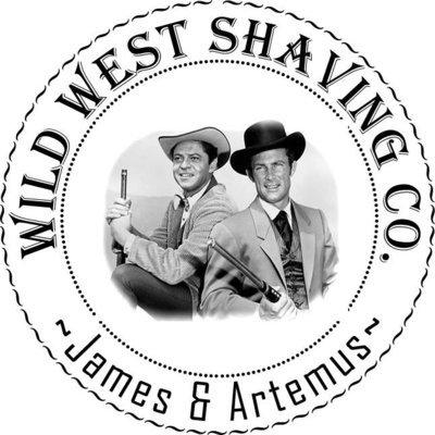 James & Artemus Shaving Soap -  Rose, Bourbon, Leather, Vanilla & Steam... Punk!