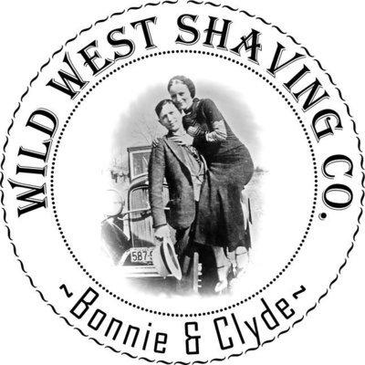 Bonnie & Clyde Shaving Soap - Leather, Campfire, Wild Honey