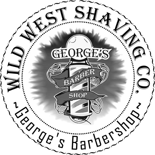 George's Barbershop Shaving Soap - Smokey Leather, Neroli, Vanilla, Black Pepper, Bergamot