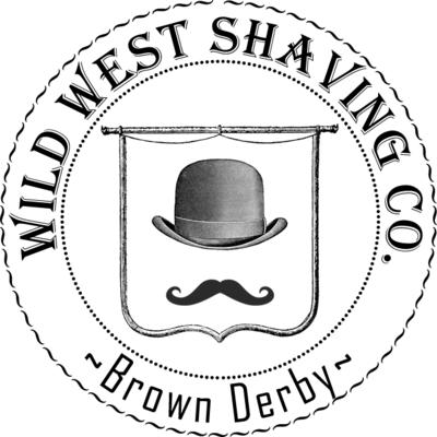 Brown Derby Shaving Soap - Bourbon, Grapefruit, Honey, Charred Oak.