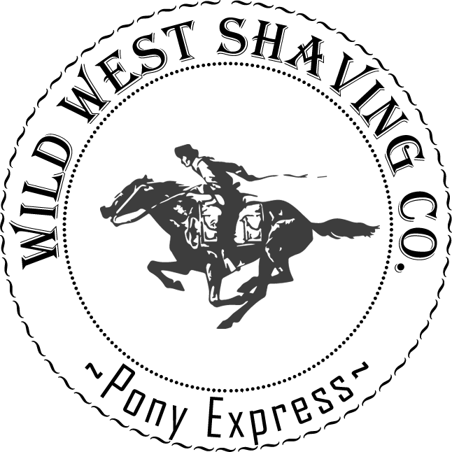 "Pony Express Shaving Soap - ""Welsh Leather""... English Leather with less boredom :-)"