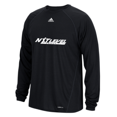 NLH Adidas Climalite Long Sleeve (Black/White)