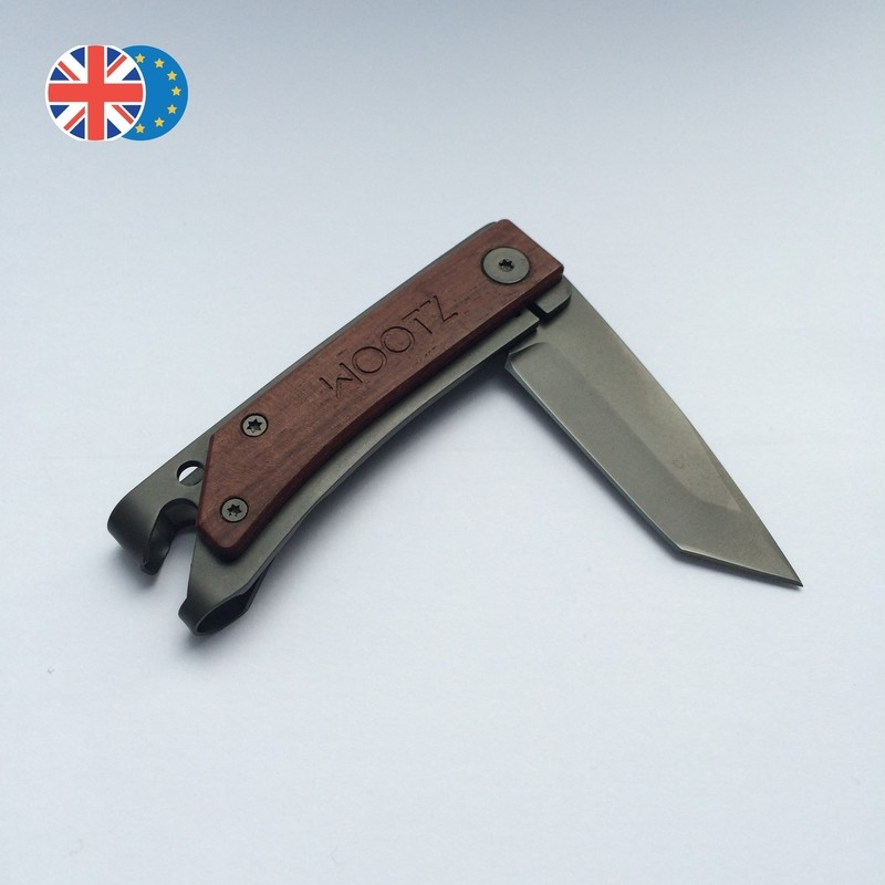 Tanto / Non-locking* / Gunmetal Gray / Hardwood