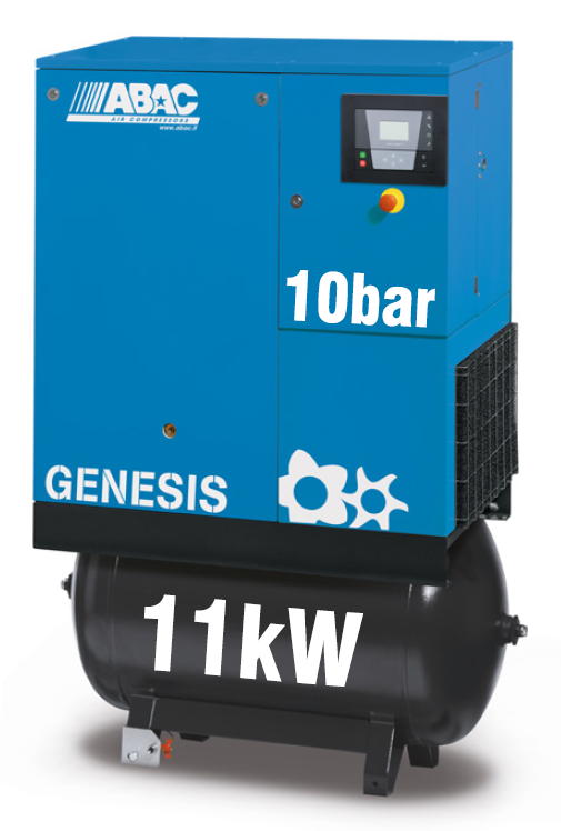 ABAC Genesis 11kW | 52CFM | 10bar | 270L | Dryer |