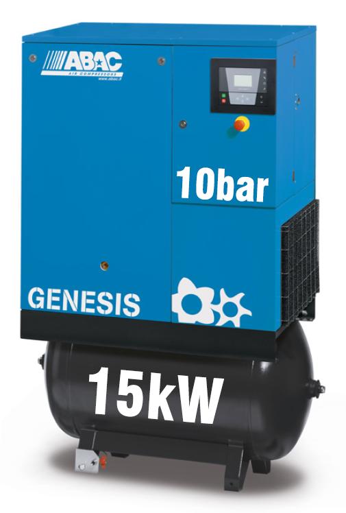 ABAC Genesis 15kW | 73CFM | 10bar | 270L | Dryer |