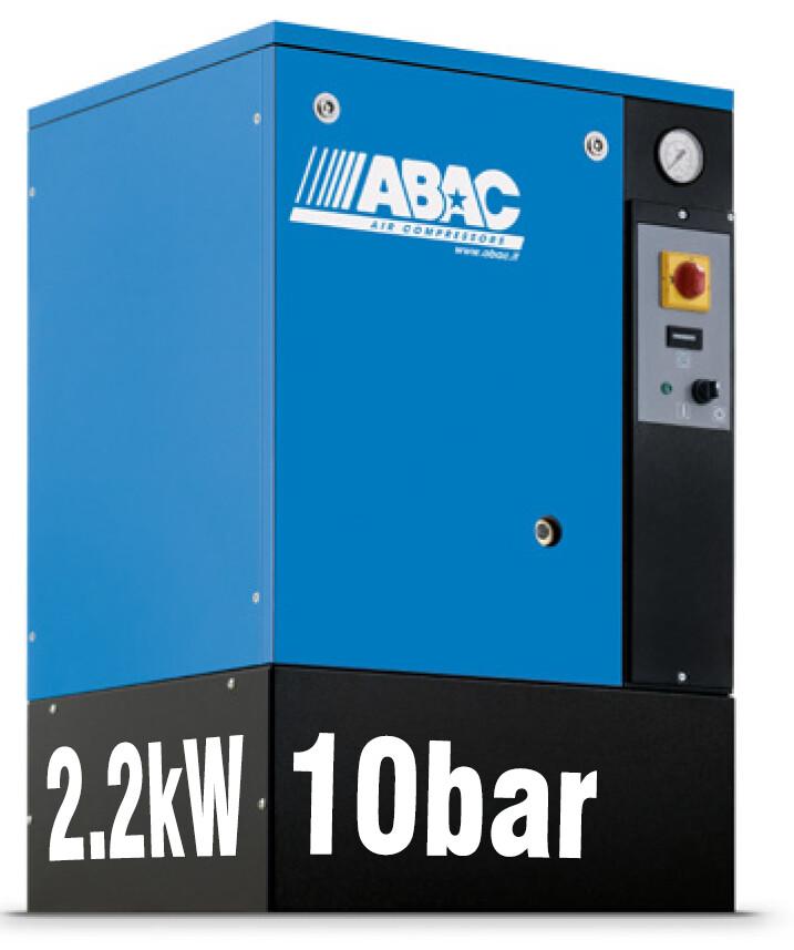 ABAC Spinn 2.2kW | 8.5CFM | 10bar | Floor Mounted | 240V |