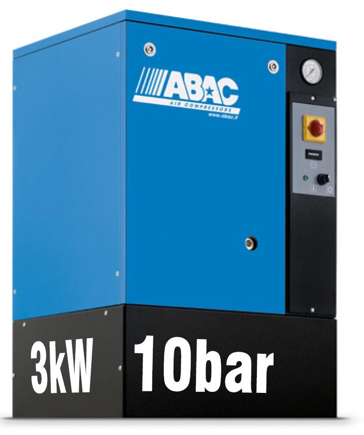 ABAC Spinn 3kW | 11CFM | 10bar | Floor Mounted | 415V |