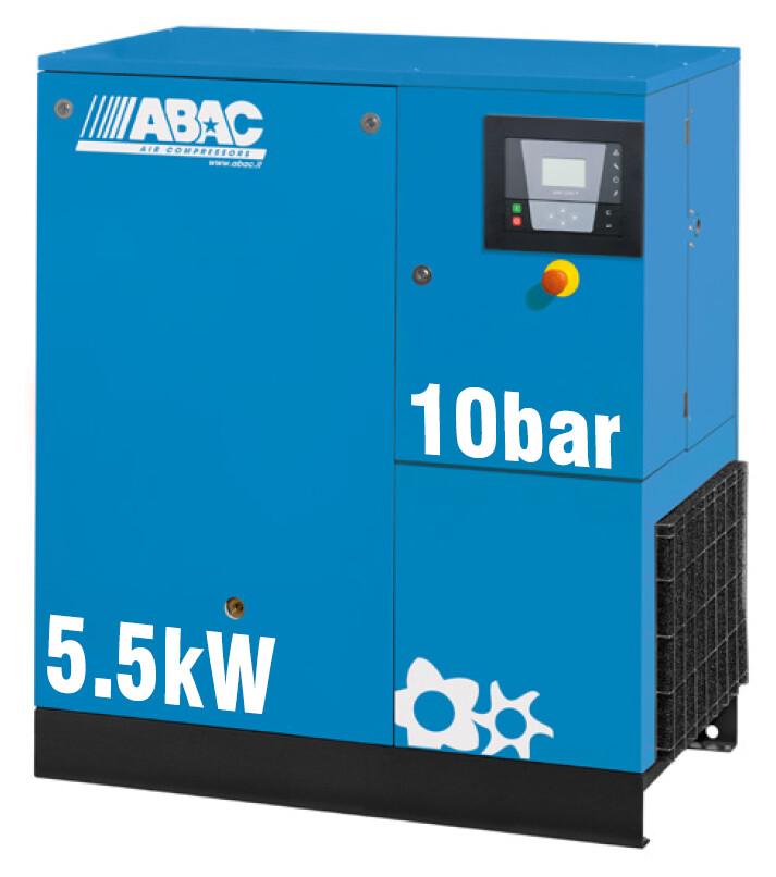 ABAC Formula 5.5kW   24CFM   10bar   Floor Mounted   415V  