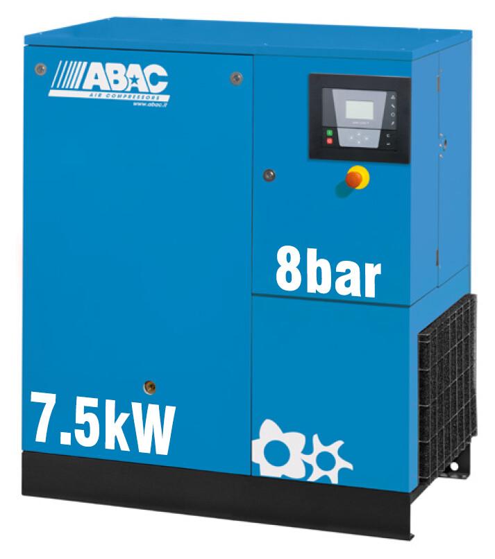 ABAC Formula 7.5kW | 43CFM | 8bar | Floor Mounted | 415V |