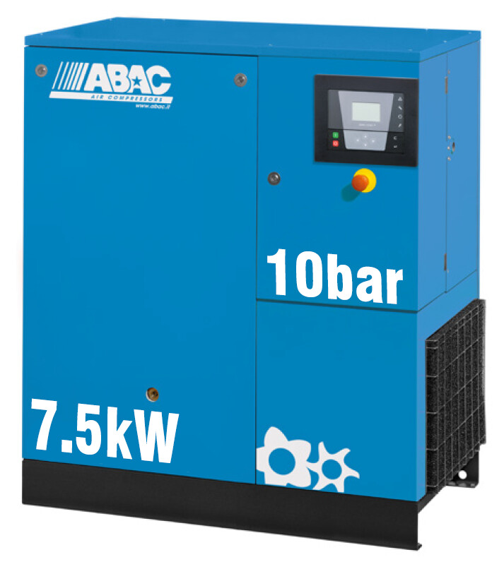 ABAC Formula 7.5kW | 37CFM | 10bar | Floor Mounted | 415V |