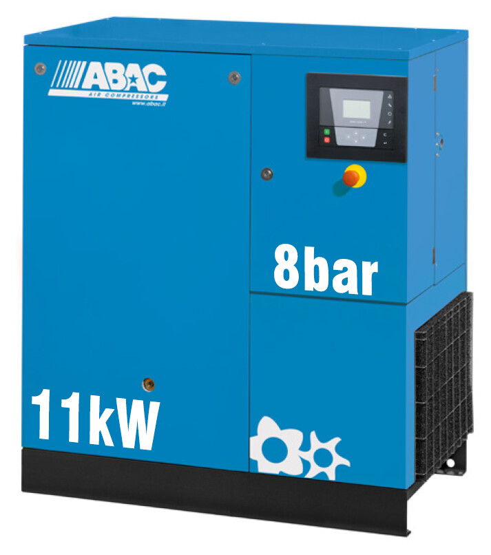 ABAC Formula 11kW | 58CFM | 8bar | Floor Mounted | 415V |