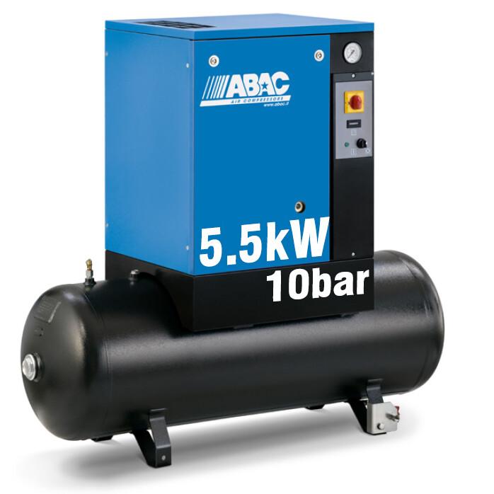 ABAC Spinn 5.5kW | 21CFM | 10bar | 200L | 400V |