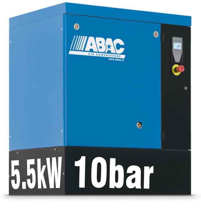 ABAC Spinn 5.5X | 24CFM | 10bar | Floor Mounted | 415V | Smart |