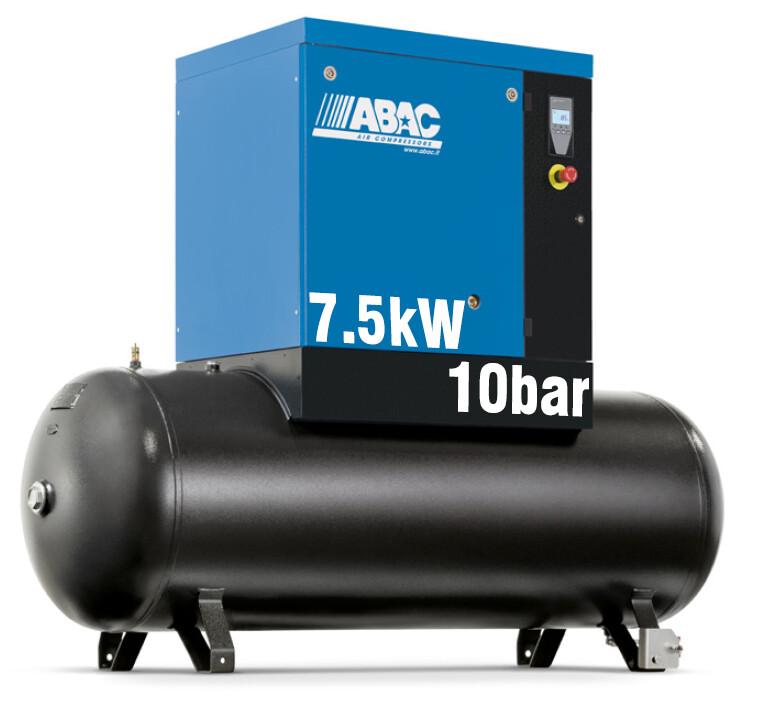 ABAC Spinn 7.5X | 24CFM | 10bar | 270L | 415V | Smart |
