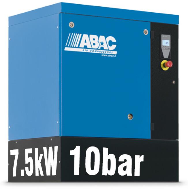 ABAC Spinn 7.5X | 35CFM | 10bar | Floor Mounted | 415V | Smart |