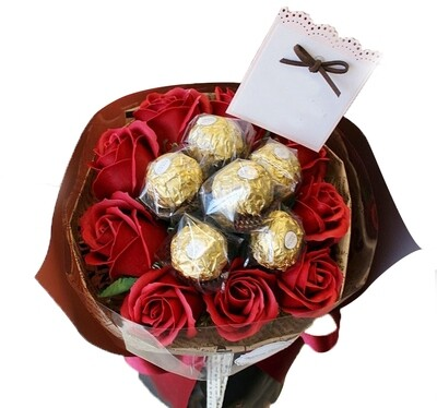 Red rose bouquet #151