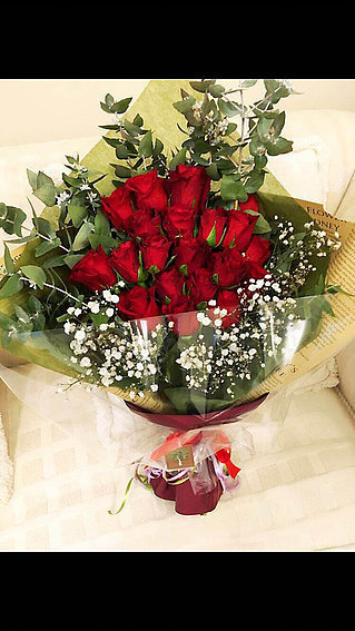 RED Rose Bouquet #15