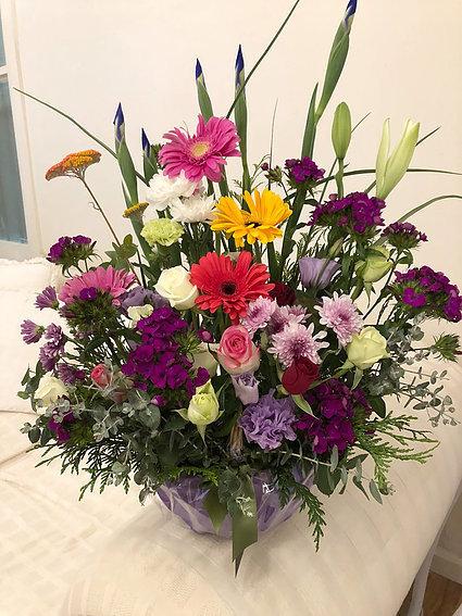 Flower basket #17