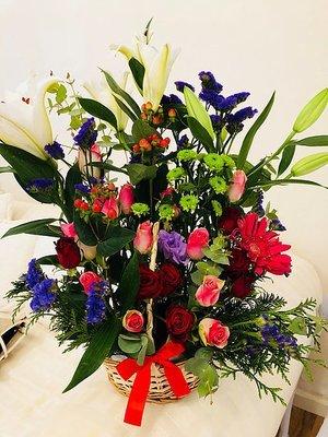 Flower basket #18
