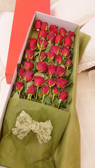 Red Rose box #29
