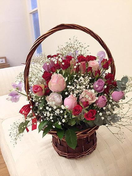 Flower basket #94