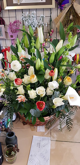 Flower basket #35