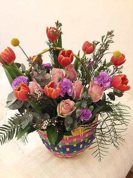 Flower basket #36