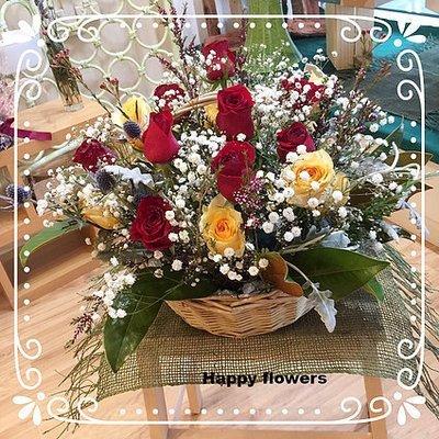Flower basket #47