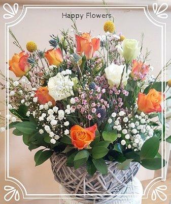 Flower basket #50