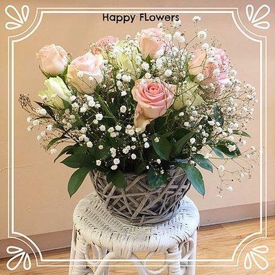 Flower basket #51