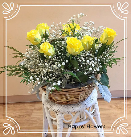 Flower basket #53