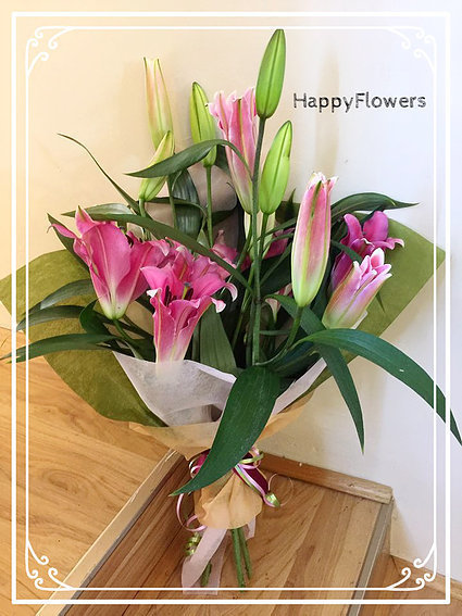Lily bouquet #61