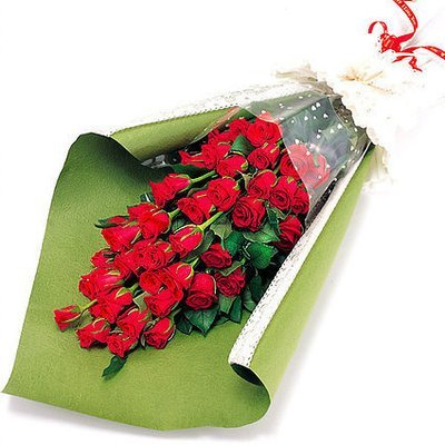 Red rose bouquet  #70