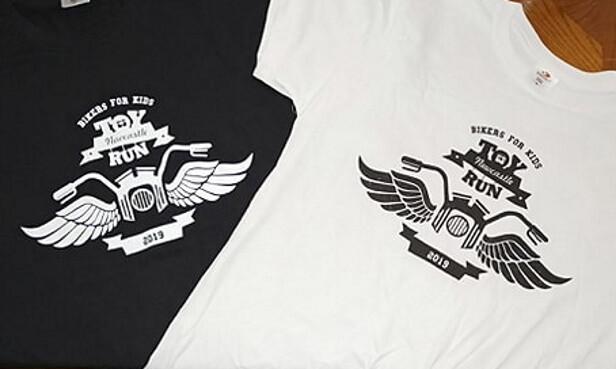 2019 Toy Run T shirt