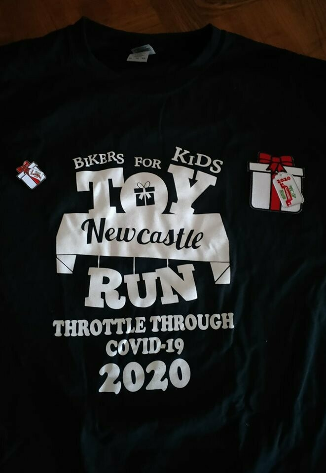 2020 Merchandise Package T shirt, Badge and Patch