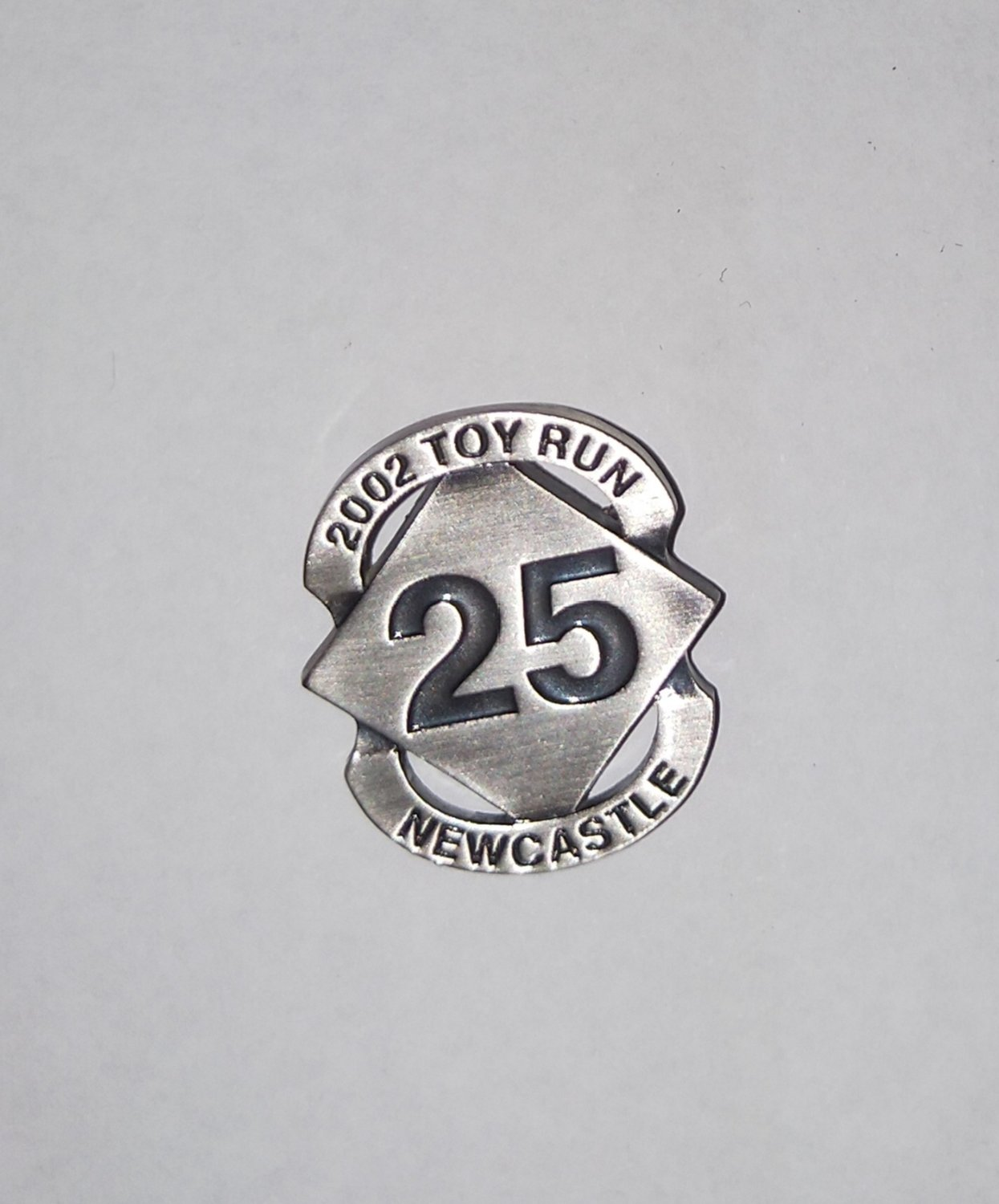 2002 Metal Commemorative Badge (limited stock)