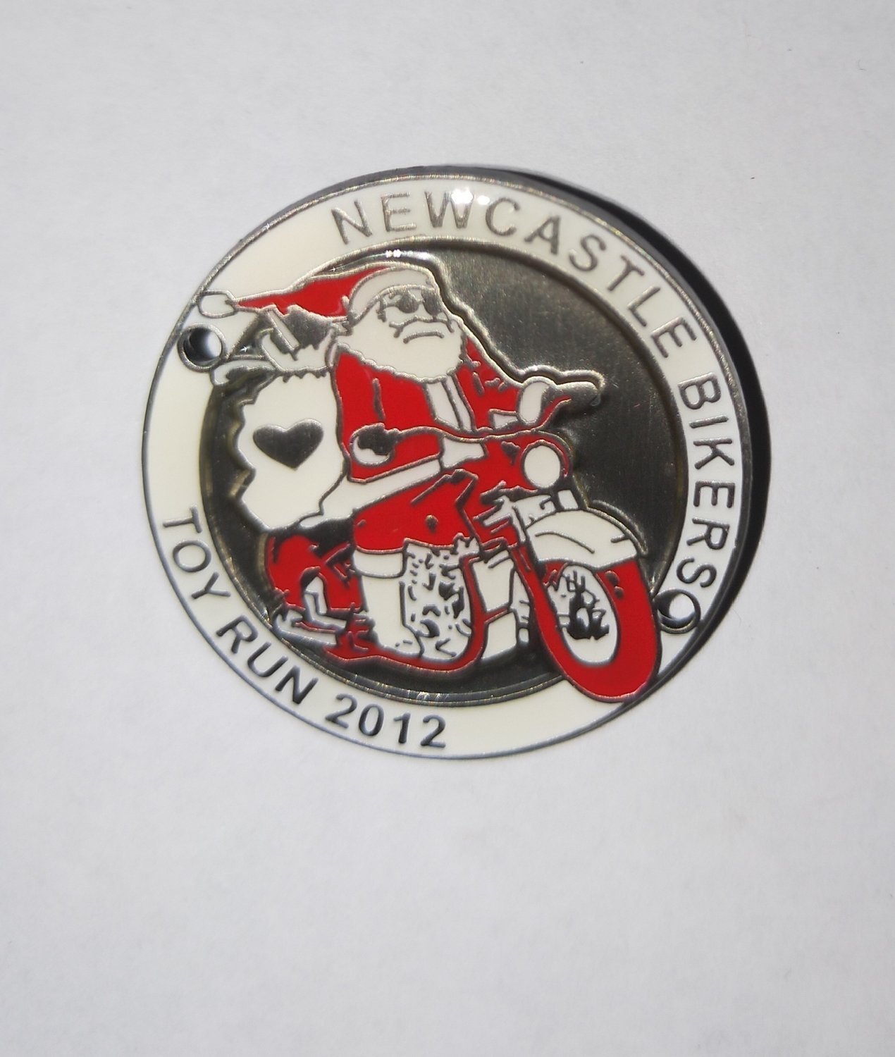 2012 Metal Badge ( Screw post)