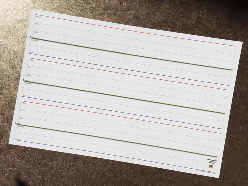 Handwriting Wipe-Off Board