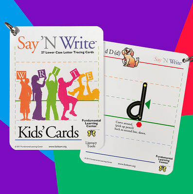 Say 'N Write™ Kids' Cards