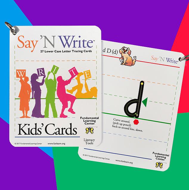 Say 'N Write™ Kids' Cards