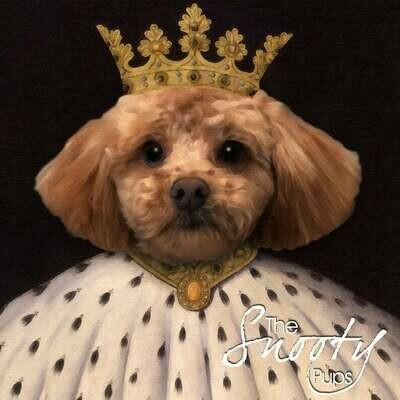 Custom Dog Portrait - King