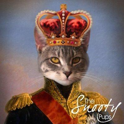 King Cat Portrait
