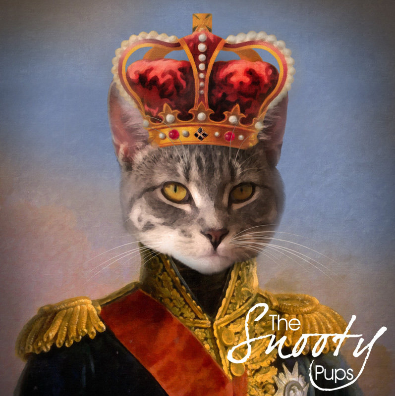 King Cat Portrait