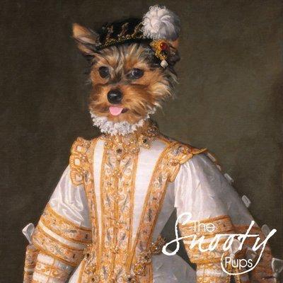 Miss Bell Custom Dog Portrait - Miss Bell