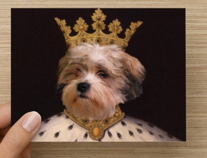 Pet Portrait Notecards