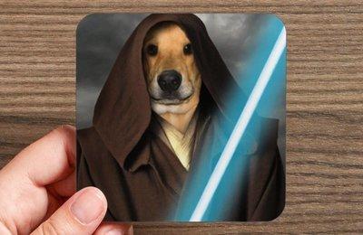 Custom Pet Portrait Coasters