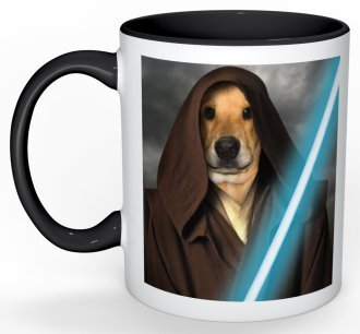 Custom Pet Portrait Mugs