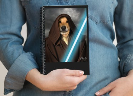 Custom Pet Portrait Notepad